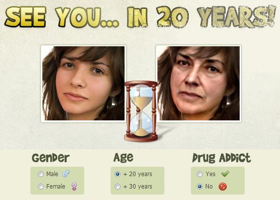 Memprediksi Wajah Kita 20 Tahun Yang Akan Datang