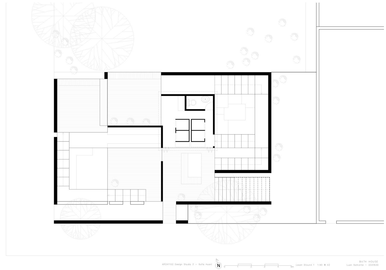 Bath house project