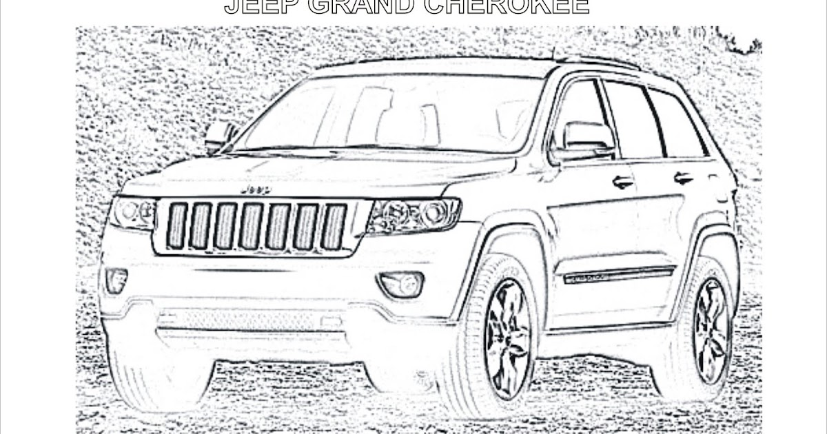 Coloring Pages Car Coloring Jeep