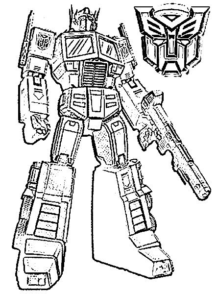 Free Animated Transformers Coloring pages Coloring Pages