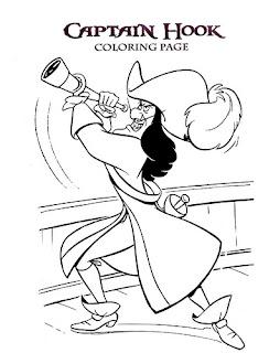 captain hook coloring pages - captain hook coloring pages free coloring pages