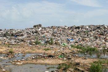 speech on land pollution