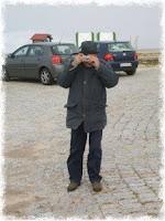 Eis o nosso motorista-fotógrafo