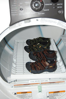 wash keens in washing machine