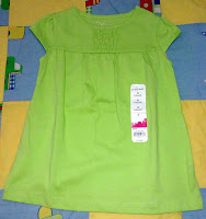Jumping Beans Blouse (Light Green)
