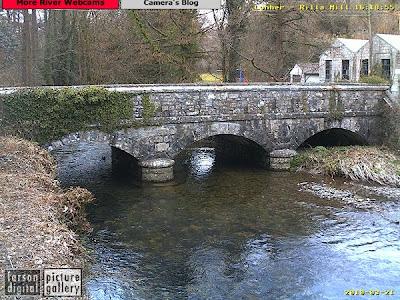 River Lyner at Rilla Mill