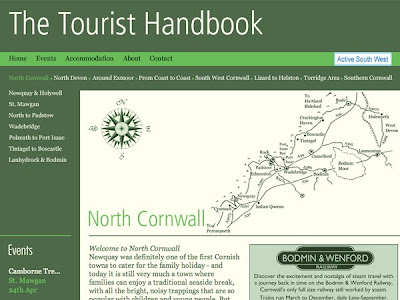 The Tourist Handbook for Devon and Cornwall