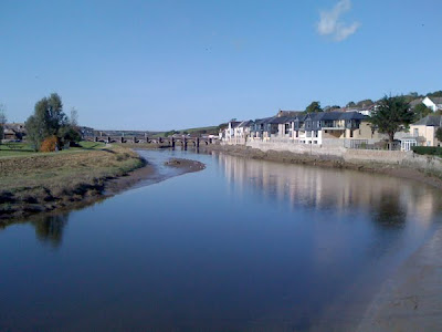 The Camel River at Wadebridge