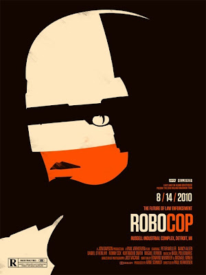 Robocop Poster - Olly Moss