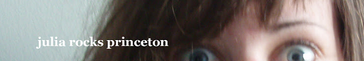 Julia rocks Princeton