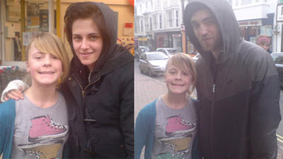 Kristen Stewart and Rob Pattinson welcomes the New Year in Isle of Wight in England