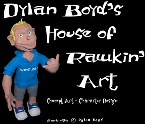 Dylan's House of Rawkin' Art