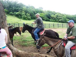 Jared horse riding
