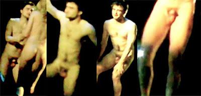 Daniel Radcliff desnuda teatro