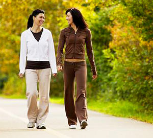 Walk Daily To Stay In Shape