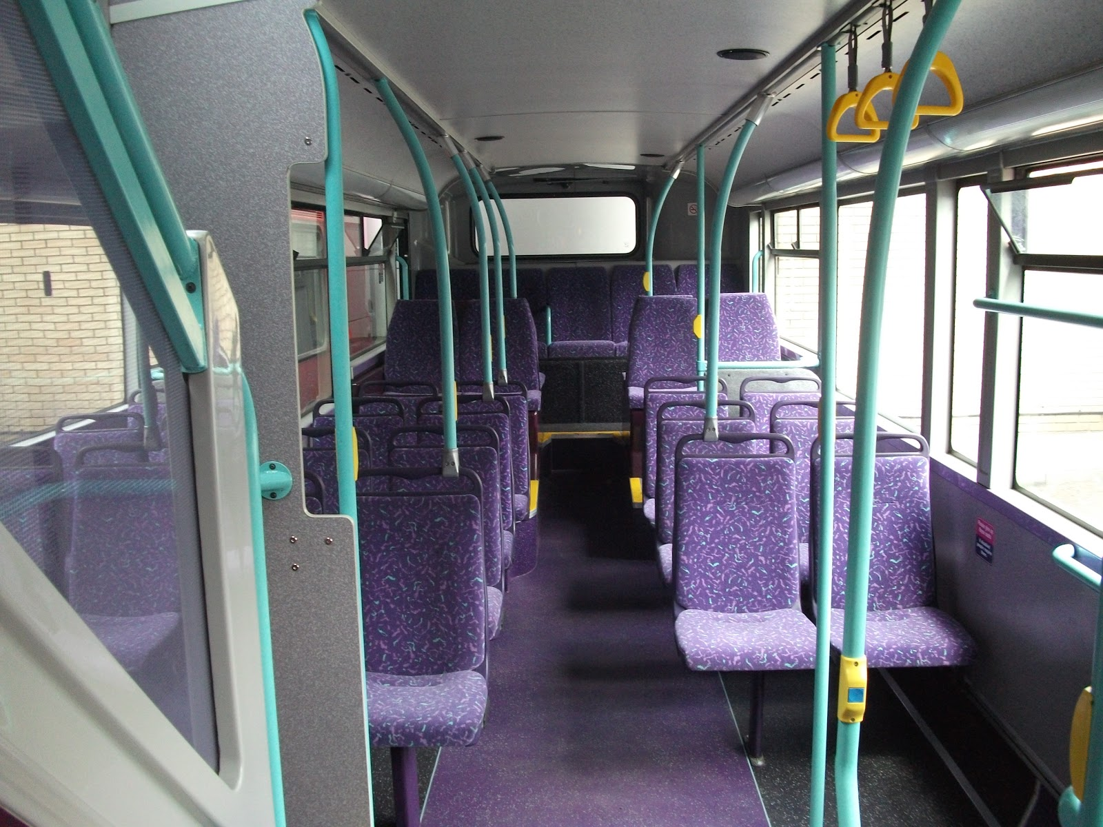 The circle of london bus interiors for London interiors