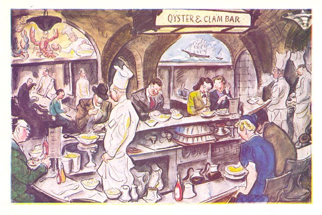 the grand central oyster bar restaurant is a famous new york landmark ...