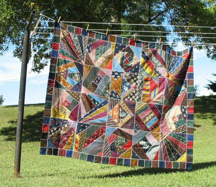 POSTCARDY: the postcard explorer: VTT - Crazy Quilt Made From ... : making a crazy quilt - Adamdwight.com
