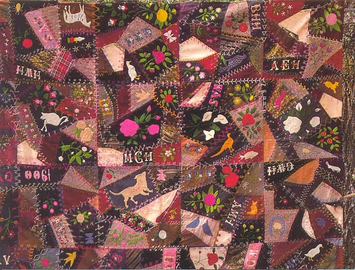 Postcardy The Postcard Explorer Vtt Crazy Quilt Made