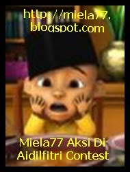Miela77 Aksi Di Aidilfitri Contest
