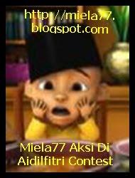 Miela77 Aksi Di Aidilfitri Contest