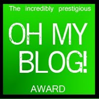 Oh My Blog Award