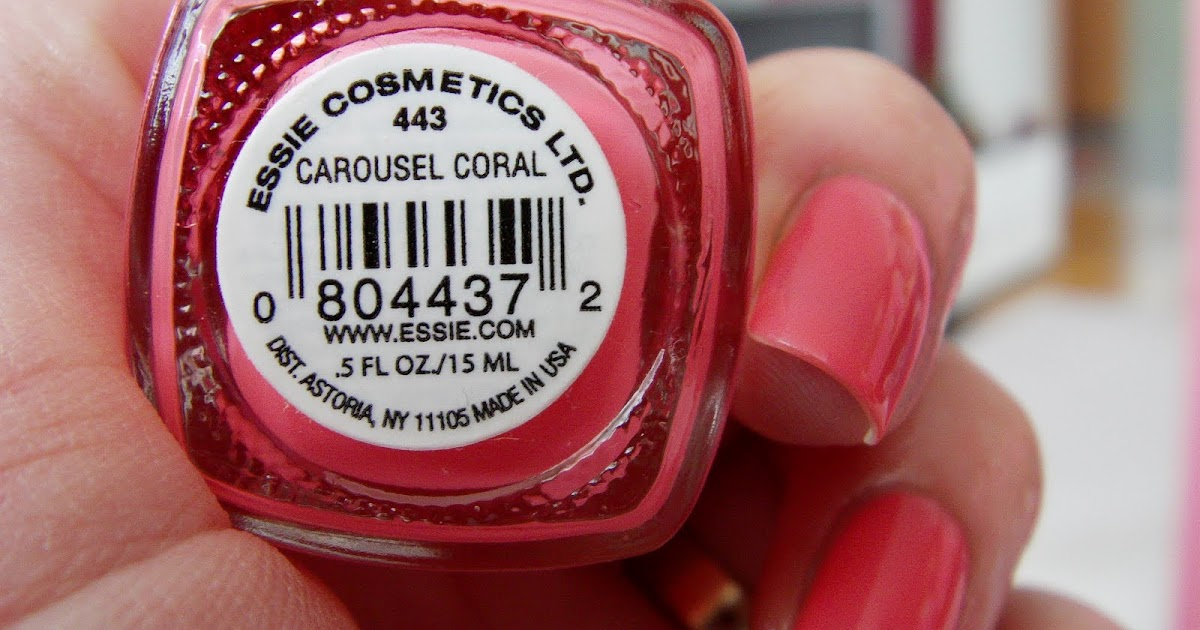 All about nails: Essie Carousel coral