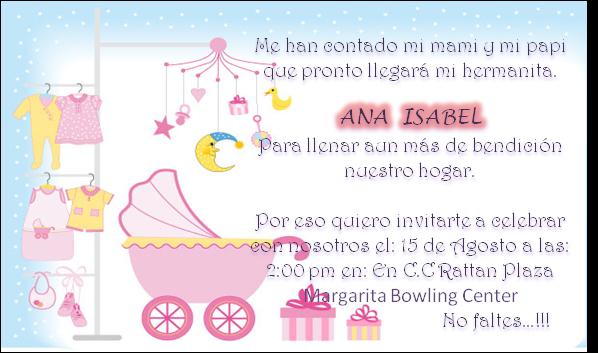 Tarjetas invitación baby shower niño - Imagui