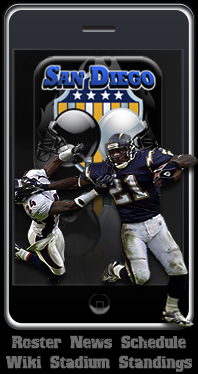 San Diego Chargers App.
