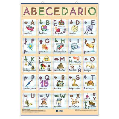 Megapost Abecedario + abecedario arabe