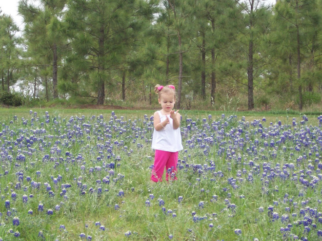 Maddy in the Blue bonnets 4.4.10