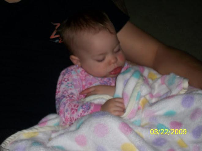 sick lil one fell asleep on daddy
