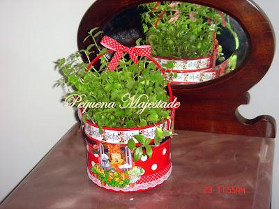 Pequena Majestade Minnie Festa Decorada