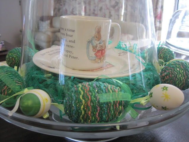 Easter Decorating, Madeleine, Easter Cloche, Peter Rabbit, Natasha in Oz
