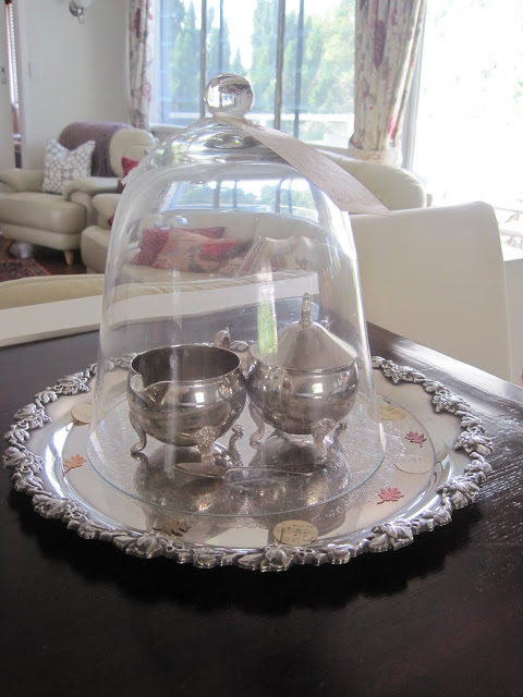 Lady Grey Tea, Cloche, Vintage Silver image, Natasha in Oz