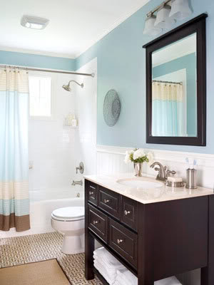 Wainscoting Inspiration and Decorating Ideas, bathroom
