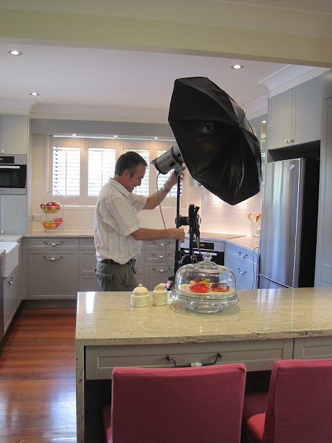 Photo shoot of French Provincial Kitchen via @natashainoz