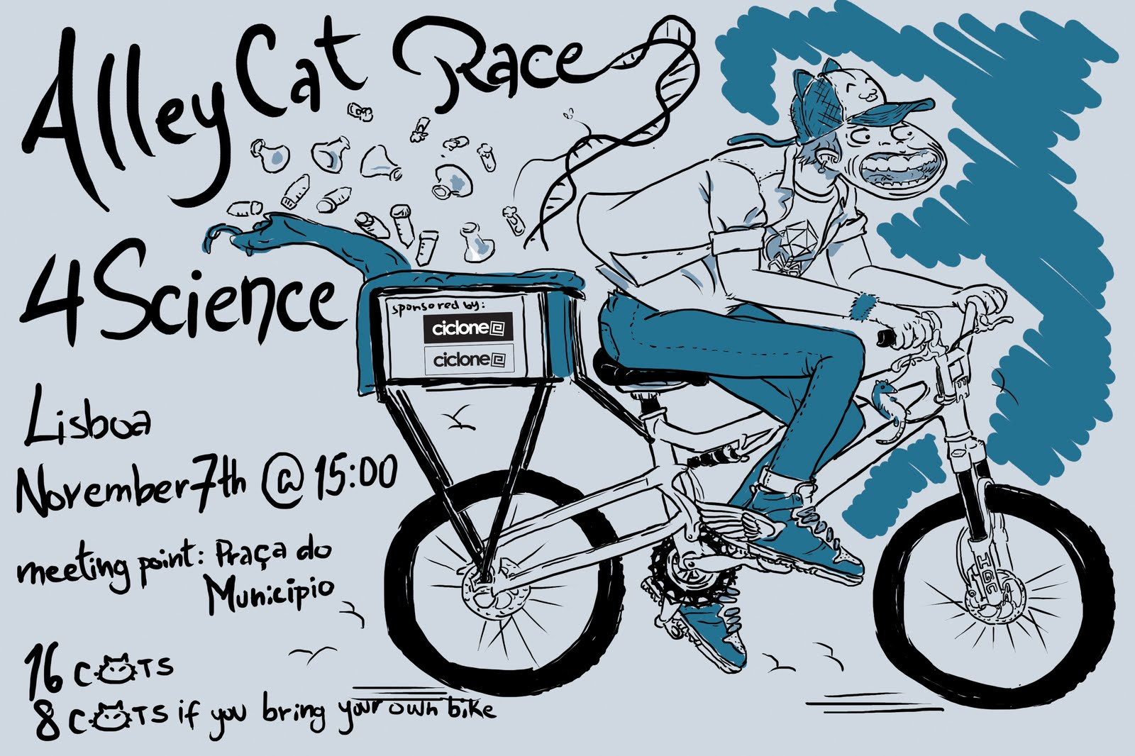 Alleycat Race 4 Science