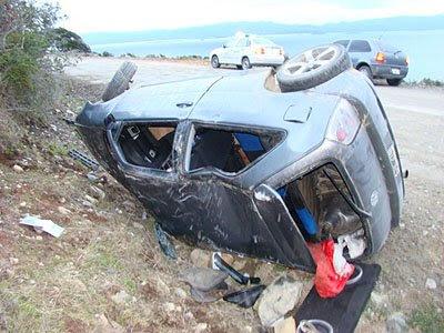 Cuatro heridos en un choque en Playa Larga