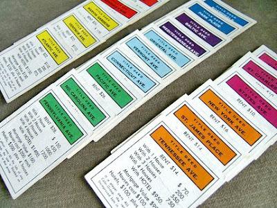 photo regarding Printable Monopoly Property Cards titled landbackpromrend