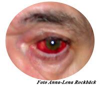 ett rött öga