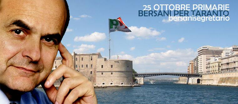 Il blog dei sostenitori di Taranto della mozione congressuale di Pier Luigi Bersani