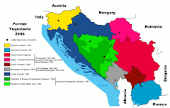 Conformación de Yugoslavia para el 2006