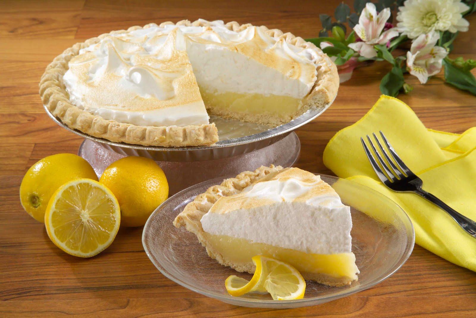 Lemon Chocolate Pie Recipe — Dishmaps
