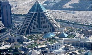 Raffles Dubai in Wafi city (Dubai, UAE)