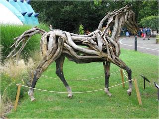 cavalo em exposição