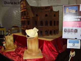 Coliseu de Roma em Chocolate