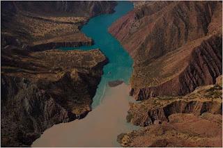 Encontro de dois rios, Tayikistán