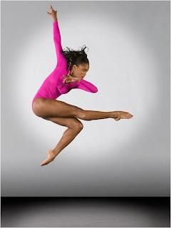 Bailarina - foto no ar