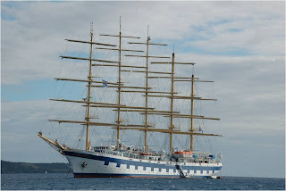 O maior veleiro do mundo - Royal Clipper foto